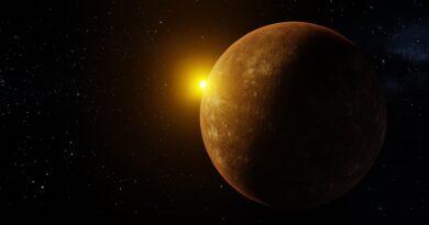Luna Llena y Mercurio en su Máxima Elongación