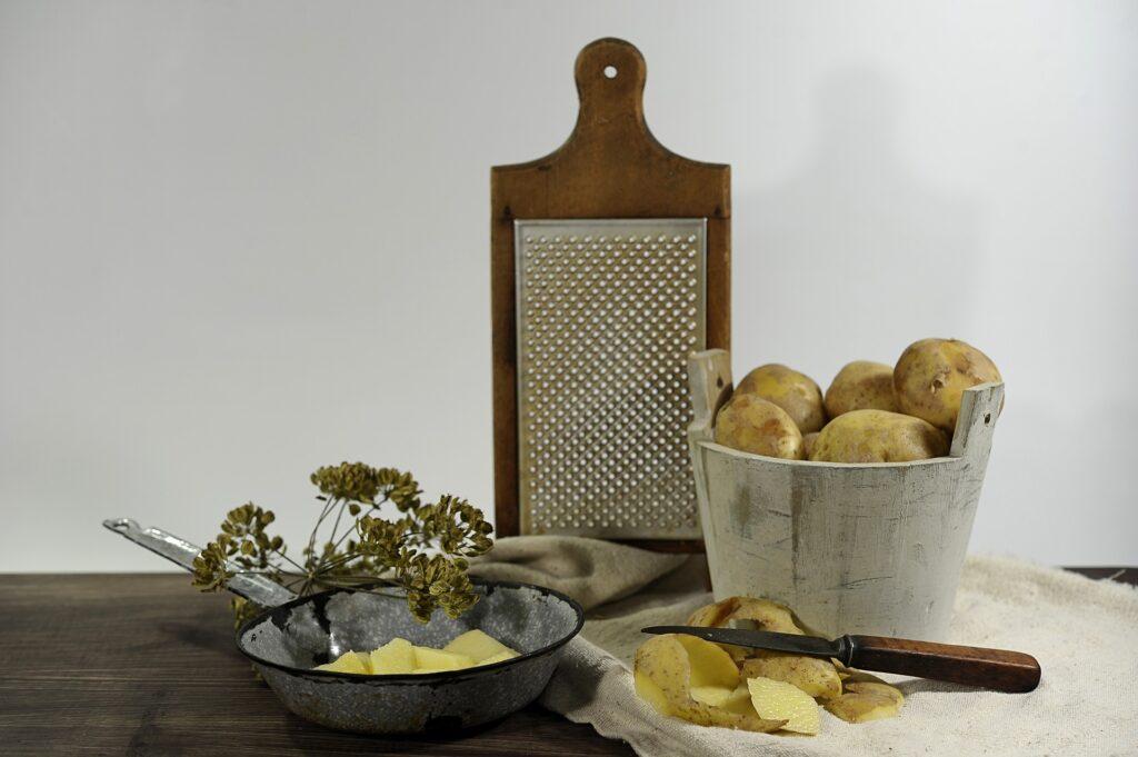 Mascarilla de Patata contra Arrugas, Manchas y Acné