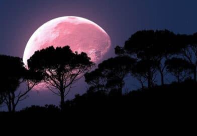 Calendario Astronómico Abril 2021 - Luna Rosa - Los Secretos de Dorian - El Magazine de la Eterna Juventud
