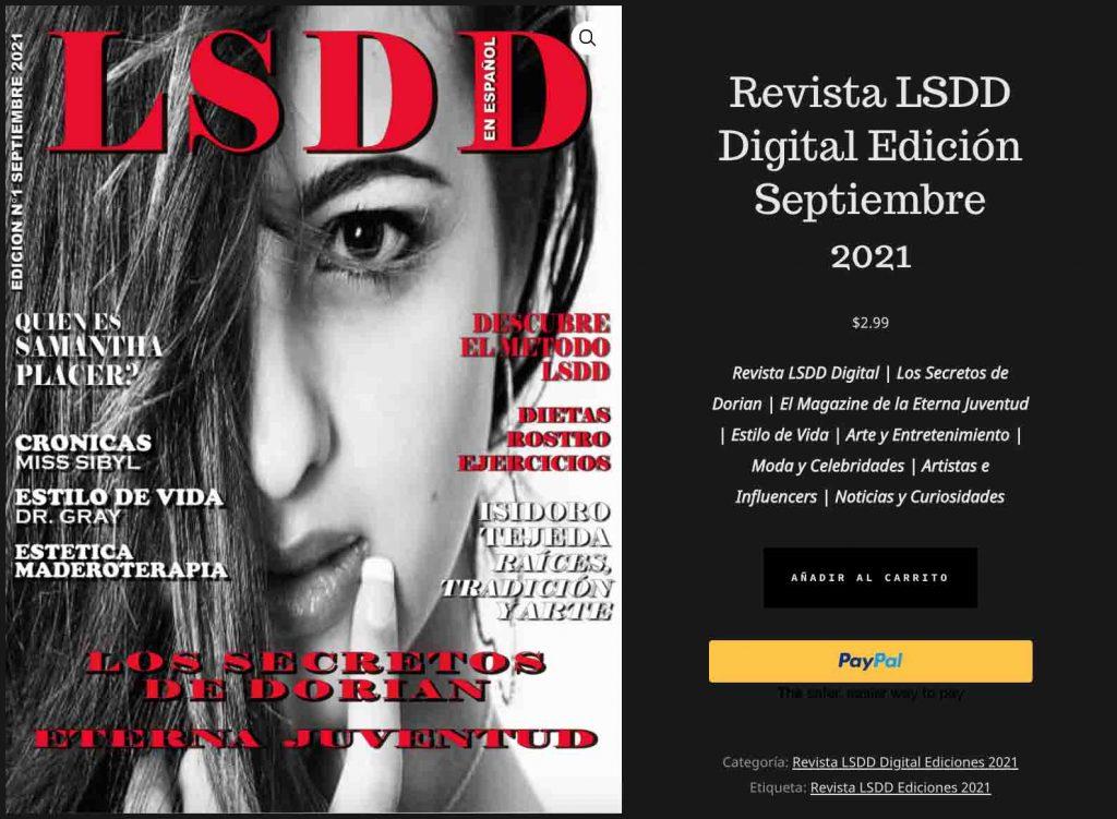 Revista LSDD Digital Edición Septiembre 2021